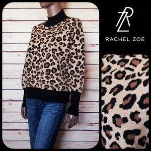 NEW!! Rachel Zoe Leopard Print Pullover